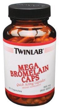TWINLAB BROMELAIN CAPS,MEGA, 90 CAP by Twinlab
