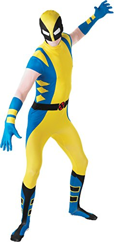 Marvel Costumes For Adults Uk (Rubie's Costume Men's Marvel Universe Wolverine Adult 2Nd Skin Costume, Multi, X-Large)
