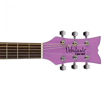 Other 6 String Acoustic Guitar, Right, Popsicle Purple (Other): Musical Instruments