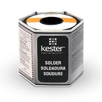 KESTER SOLDER 24-7150-9727 SN62PB36AG02 #58/285 .015 1 LB SPL Solder ...