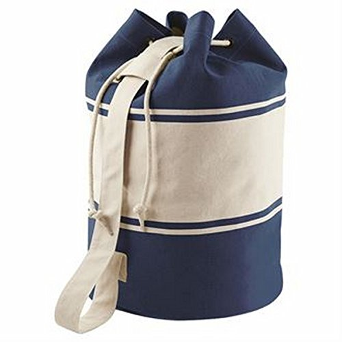 Canvas Duffle (Marineblau/Natur)
