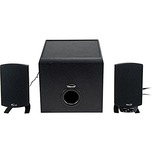 Klipsch ProMedia 2.1 Bluetooth Speaker System (3-Piece) Black