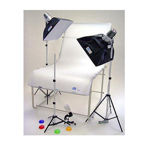 Photo Box Still Life Light - JTL TL 365 Still Life Photo Table Kit with Table, Monolights, Softboxes, Light Stands & Accessories.