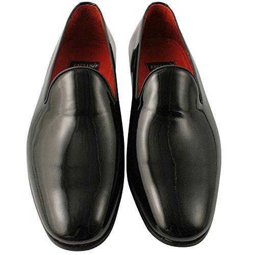 Exclusif ParisExclusif Paris Zadig, Chaussures homme Mocassins homme - Zapatos de Cordones Hombre Negro - negro