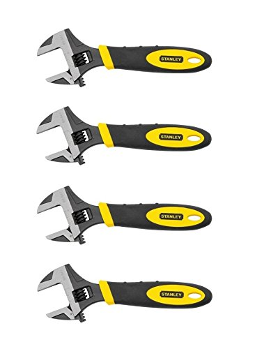 Stanley 90-947 6-Inch MaxSteel Adjustable Wrench (4 Pack)
