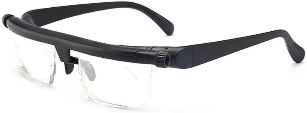 Salud y Belleza Lente de fuerza ajustable Lectura Miopía Gafas Gafas Visión de enfoque variable