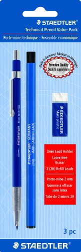 Staedtler Mars Technical Mechanical Pencil Set, 780SBK ()
