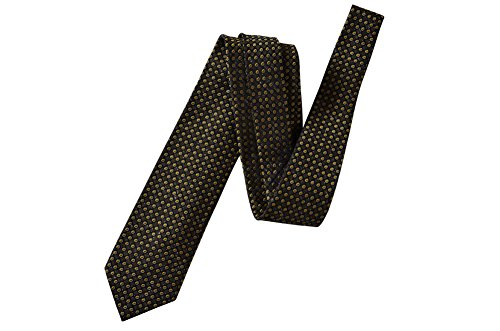 Tom Ford Green Polka Dot 100% Silk Skinny Neck Tie by Tom Ford..