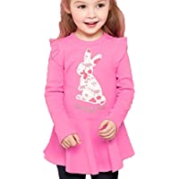 CuteMe Adorable Baby Girls Clothes Set Long Sleeve Top and Pants 2 Pieces Outfits