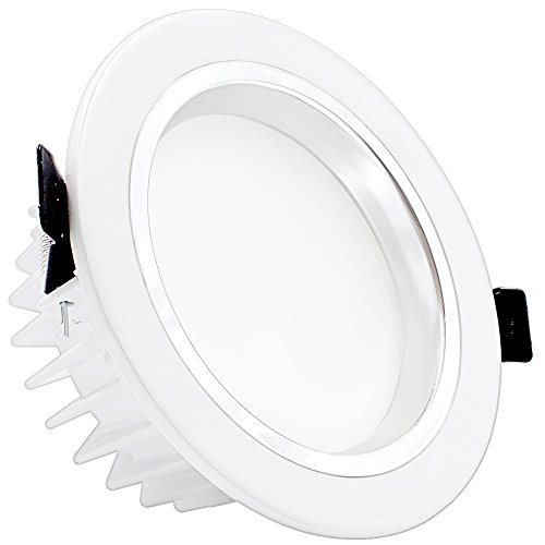 "Bearing End Play (4"" Dimmable LED Retrofit Recessed Light, 12W (90W Halogen Equiv.) Slim LED Downlight with Reflector trim, Frosted Glass Lens Ceiling Light for New Construction and Remodel 3000K Warm White)"