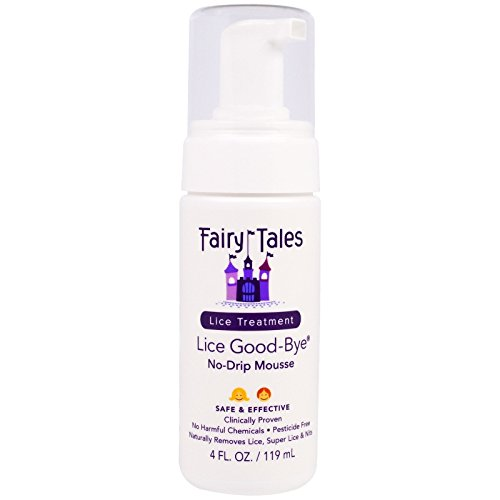 Tales Kit - Lice Goodbye Nit Removal Kit with Comb by Fairy Tales for Kids - 4 oz Mousse