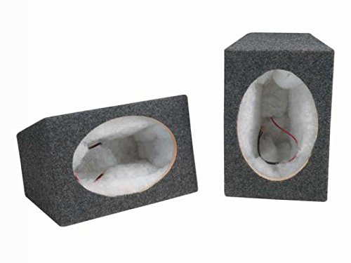 SCOSCHE SE6900 6X9 Car Speaker Enclosure Pair with MDF Carpet by Scosche