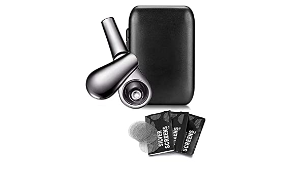 Amazon.com: Tobacco Pipes with Gift Box - Streamlined Design - Easy to Clean (Silver): Health & Personal Care
