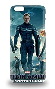 HotHollywood Captain America The Winter Soldier Sci Fi Adventure Action Tpu 3D PC Soft Case Cover Compatible With Iphone 6 Plus ( Custom Picture iPhone 6, iPhone 6 PLUS, iPhone 5, iPhone 5S, iPhone 5C, iPhone 4, iPhone 4S,Galaxy S6,Galaxy S5,Galaxy S4,Galaxy S3,Note 3,iPad Mini-Mini 2,iPad Air )