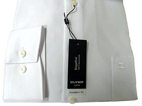 Olymp Hemd modern fit 0300 64 00 weiß Langarm