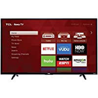 TCL 43UP130 43-Inch 4K Ultra HD Roku Smart LED TV (Certified Refurbished)