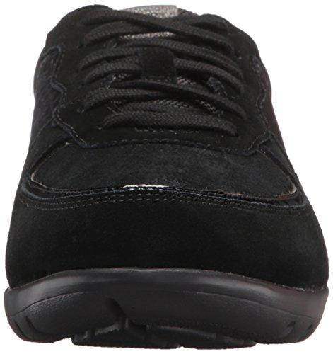 Rockport Womens Truwalk Zero Moreza Mudguard Walking Shoe Black XSqZ8