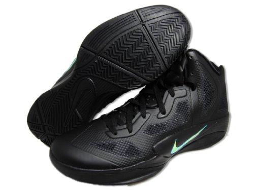 Nike Zoom Hyperfuse 2011 454136 003 Black/ Mtlc Luster-bl...