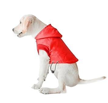 Pupouse Chaqueta Impermeable para Perros Chaqueta Impermeable para Perros Chaqueta Ligera para Perros Ropa Interior para