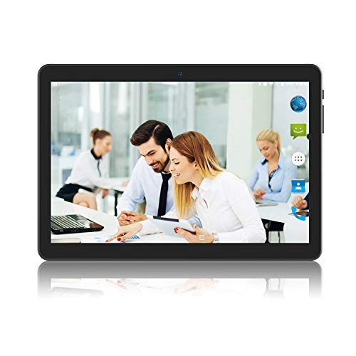 Tablet 10 inch Android Go 8.1 Google Certified, Tablet PC with TF Card Slot and Dual Camera,16GB Storage,5G WiFi,Bluetooth, GPS