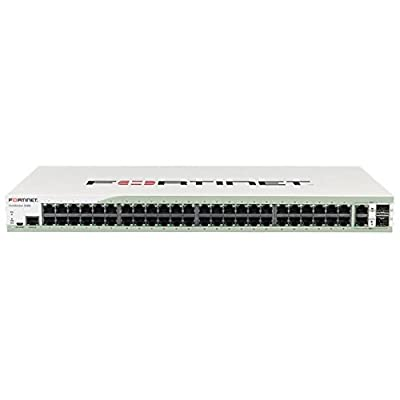 Fortinet FS-348B-NFR 48 Port GIGABIT Switch with 2 Shared WAN