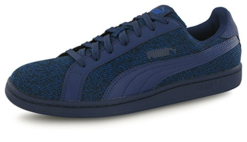 Puma Smash Knit Bleu, Baskets Mode Homme