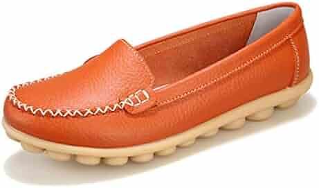 e812c0e7691b0 Shopping Orange or Ivory - Loafers & Slip-Ons - Shoes - Women ...