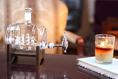 The-Wine-Savant-Barrel-Decanter-Drink-Dispenser-for-Wine-Whiskey-Brandy-Tequila-Bourbon-Scotch-Rum-and-Liquor-or-Spirits-1000ml
