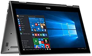 Dell Inspiron 5379 2-in-1 Laptop -Intel Core i7-8550U, 13.3-Inch FHD Touch, 512GB, 16GB, Eng-Arb-KB, Windows 10 , Windows Inking Compatible , GREY