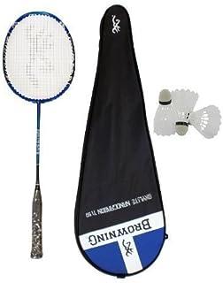 Browning Oxylite Ti 90 Lot de raquettes de Badminton avec 3 volants