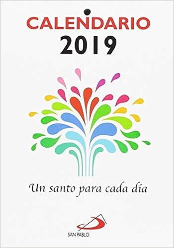 Calendario 1900.Calendario Un Santo Para Cada Dia 2019 Letra Grande Equipo