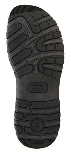 camel active Herren Schuh Ocean 11 Sportive Trekking-Sandale Aus  Hochwertigen Hightech-Materialien Schwarz 48d6ca1bf9