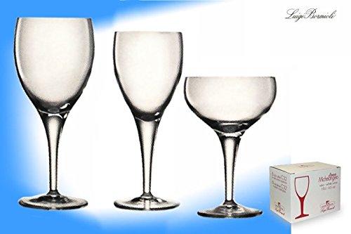 Michelangelo Champagne Saucers 7.5oz- Pack of 6 | Luigi Bormioli Champagne Glasses, Crystal Champagne - Champagne Saucer Crystal