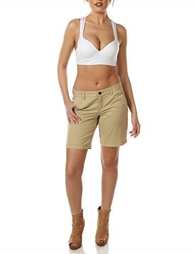7 Inseam Short (7Encounter Casual Stretch Cotton Chino Shorts 9 In Inseam (10,)