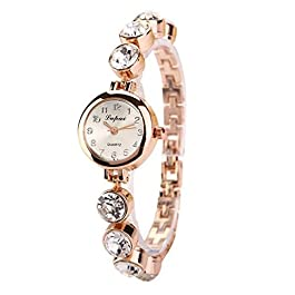 2019 Watches sonnena Bracelet montre Watch Womens Analog Quartz Wrist Watch, for Party Club Casual Stainless Steel