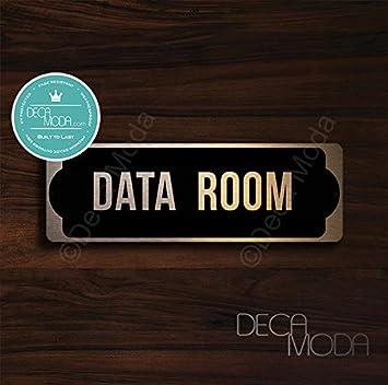Amazon.com: Cartel para puerta de sala de datos, carteles ...