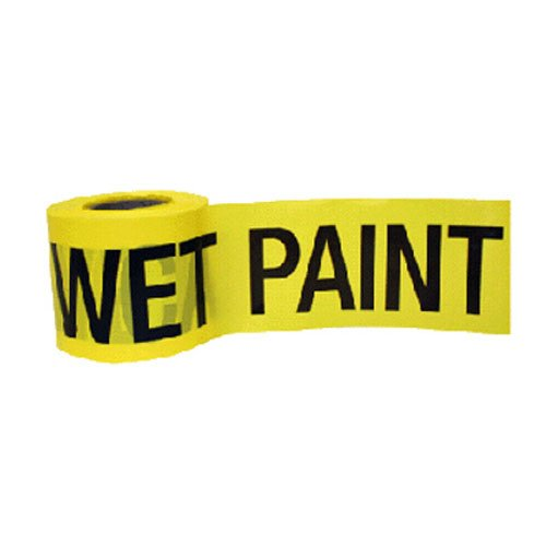 CH Hanson 300 ft. Caution Wet Paint Barricade Tape 2 mil