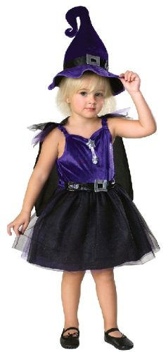 Storytime Witch Toddler Halloween Costume with Hat Cape]()