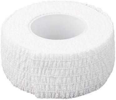 ゴルフ フィンガーラップ スポーツ サポート 圧縮 包帯 テープ 保護 ホワイト