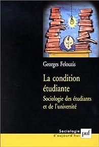 La condition etudiante par Georges Felouzis