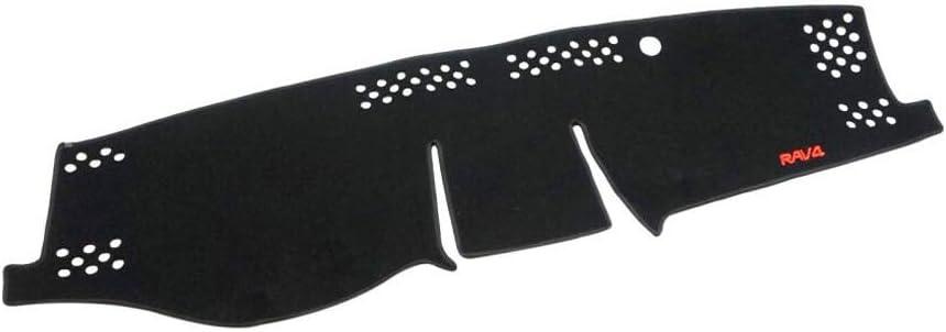 Salusy Dashboard Dash Protector Dash Mat Sun Cover Pad Compatible with Toyota RAV4 Hybrid/Toyota RAV4 2019