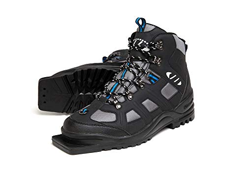 Erik Sports Whitewoods Adult 75mm 3-Pin Nordic Cross Country Insulated Ski Boots, EUR 36-49 (42)