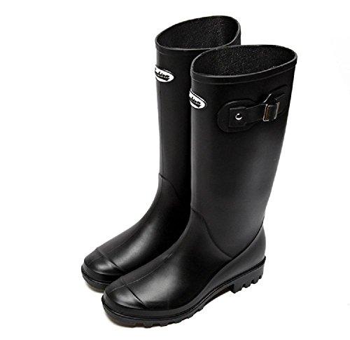 Alger PVC Spring Fashion Martin Rain boots, 40