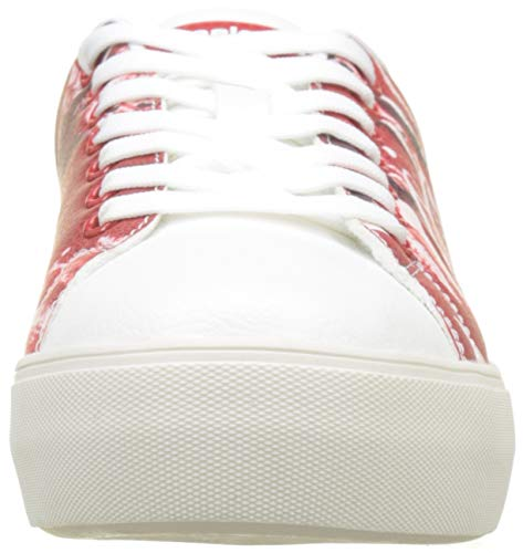 cola Rouge Basses Baskets Shoes Cola star 3054 Coca Femme Desigual rojo 0OqwZt4qx