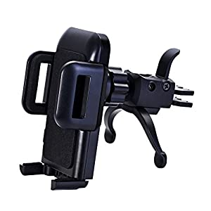 Car Phone Mount,U-good Cell Phone Holder for Car Air Vent w/ Kickstand[Firm Grip,Single-Hand Operate,360 Rotation] for iPhone X/8/8 Plus/7/7 Plus/6s Plus,Galaxy S8 S7 S6,LG,Nexus,Sony And More