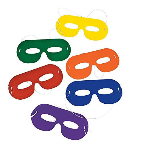 (Bright Color Masks - Costumes & Accessories & Masks 24)