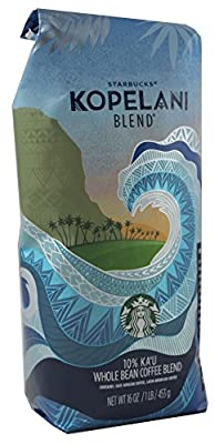 2018 Starbucks Kopelani Blend Whole Bean Coffee 1 LB