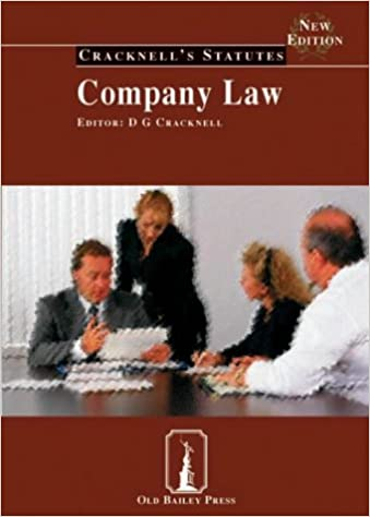 Company Law (Cracknell's Statutes)