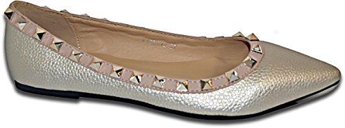Elara - Zapatillas de casa Mujer Dorado - dorado