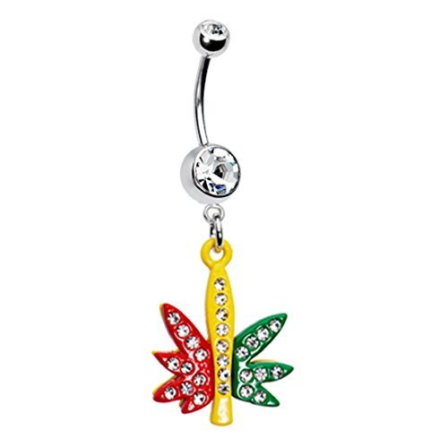 Guitar Belly Button Ring - 4